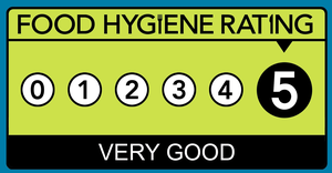 food hygiene rating 5 out of 5 - Very Good